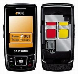 Samsung Duos – слайдер с поддержкой двух SIM-карт
