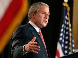 Буш в четвертый раз применил право вето: не понравилась программа страхования детей