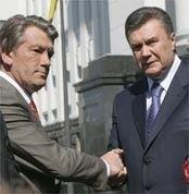 Ющенко выбрал Януковича и решил дружить против Тимошенко