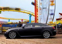Первые экземпляры Lexus IS-F