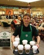 Starbucks будут открываться во всех торговых центрах «Мега»