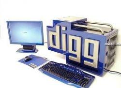 Моддинг в виде логотипа Digg.com (фото)