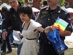 При разгоне гей-парада в Москве задержаны 40 человек