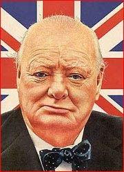 Сила Черчилля была в его сигаре