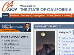 Американские сисадмины по ошибке удалили официальный сайт штата Калифорнии