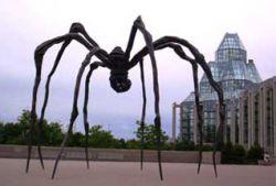 Любите маму? Назовите 10-метровую скульптуру-паука в её честь!