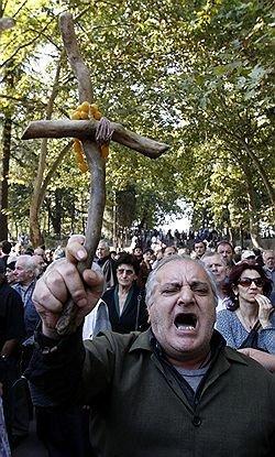 Оппозиция Грузии выступила против президентского правления