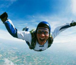 Парашютист упал с высоты 600 метров без единой царапины