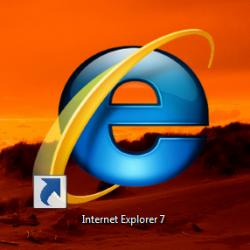 Internet Explorer 7 завоевывает рынок