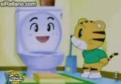 Японские мультики научат малышей пользоваться унитазом (видео)