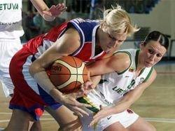 Российские баскетболистки вышли в полуфинал чемпионата Европы