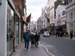 Лондонская Бонд-стрит признана самой дорогой улицей в мире
