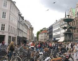 В Копенгагене разогнана крупная молодежная манифестация