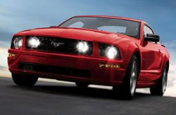 Краш- тест Ford Mustang 2008