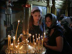 В России сокращается число атеистов