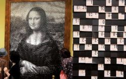 Мона Лиза Леонардо да Винчи из билетов метро