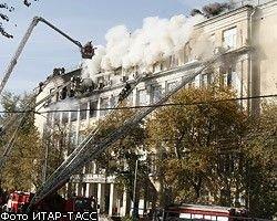 Число жертв недавнего пожара в московском институте достигло 10