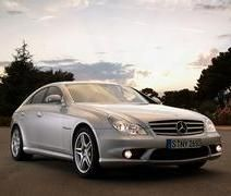 Mercedes-Benz CLS 63 AMG делает физику бесполезной