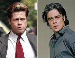 Брэд Питт и Бенисио Дель Торо: близнецы-братья? (фото)