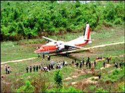 В центральной части Колумбии пропал самолет с 18 пассажирами на борту