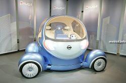 Nissan Pivo 2 – новый электрический концепткар (видео)