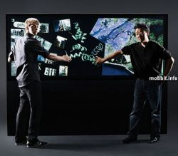 Interactive Media Wall – огромный сенсорный Multi-touch дисплей (видео)