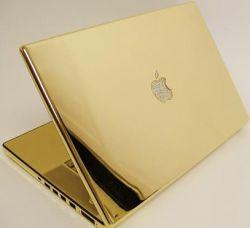 Первый золотой MacBook Pro выставлен на продажу