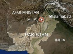 Взрыв в магазине музыкальных дисков в Пакистане