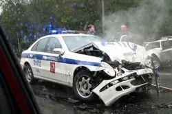 Участниками резонансных ДТП все чаще становятся работники правоохранительных органов