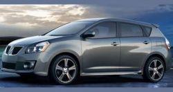 GM опубликовал первые официальные фотографии кроссовера Pontiac Vibe 2009