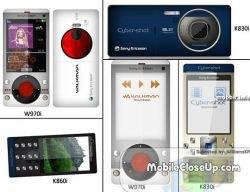 Новая линейка телефонов Sony Ericsson на 2008-й год?