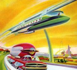 На работу - по воздуху: транспорт будущего (фото)