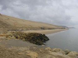 Гора из песка названа самой большой дюной Европы (фото)