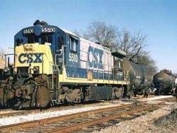 В штате Огайо сошел с рельсов перевозивший токсичные вещества поезд