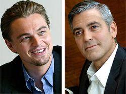 Клуни и ди Каприо готовят политический триллер