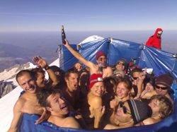 Джакузи на высоте 4807 метров (фото)