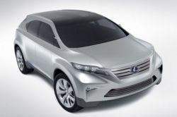 Первые изображения будущего поколения Lexus RX (фото)