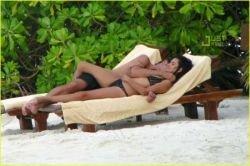 Пенелопа Крус и Хавьер Бардем отдыхают на Мальдивах (фото)
