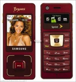 Новый телефон Samsung от певицы Бейонс (фото)