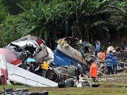 Самолет в Таиланде упал из-за порыва ветра