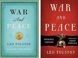 """В США изданы два конкурирующих перевода книги Льва Толстого \""""Война и мир\"""""""