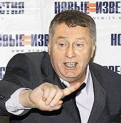 В чем провинился Жириновский
