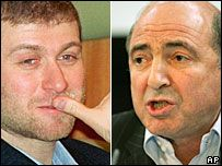 Березовский судится с Абрамовичем