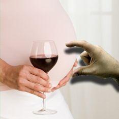 Будущему ребенку не повредит бокал вина
