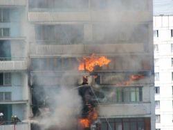 При пожаре на северо-востоке Москвы погибли три человека