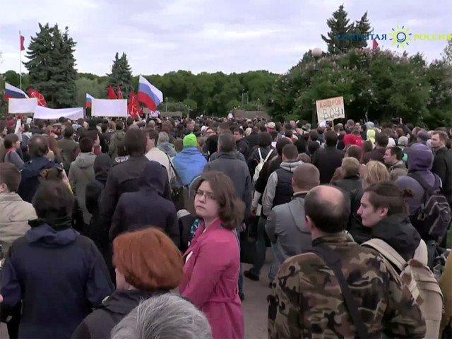 В горизбирком Петербурга поданы документы о проведении референдума против