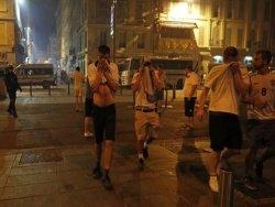 СМИ подсчитали пострадавших в марсельских столкновениях фанатов