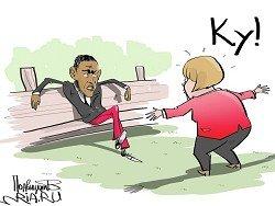 Немецкий народ: Меркель должна уйти