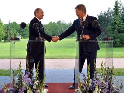 Путина в Финляндии привел в ярость вопрос о НАТО