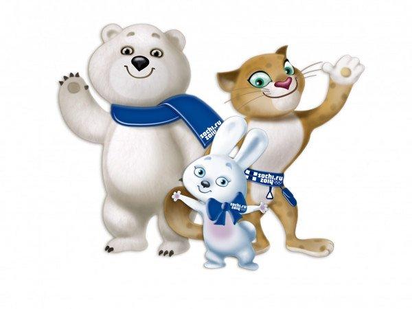 Анимация, открытки олимпийских игр